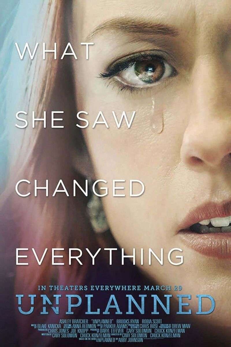 Movie poster for Unplanned</p>