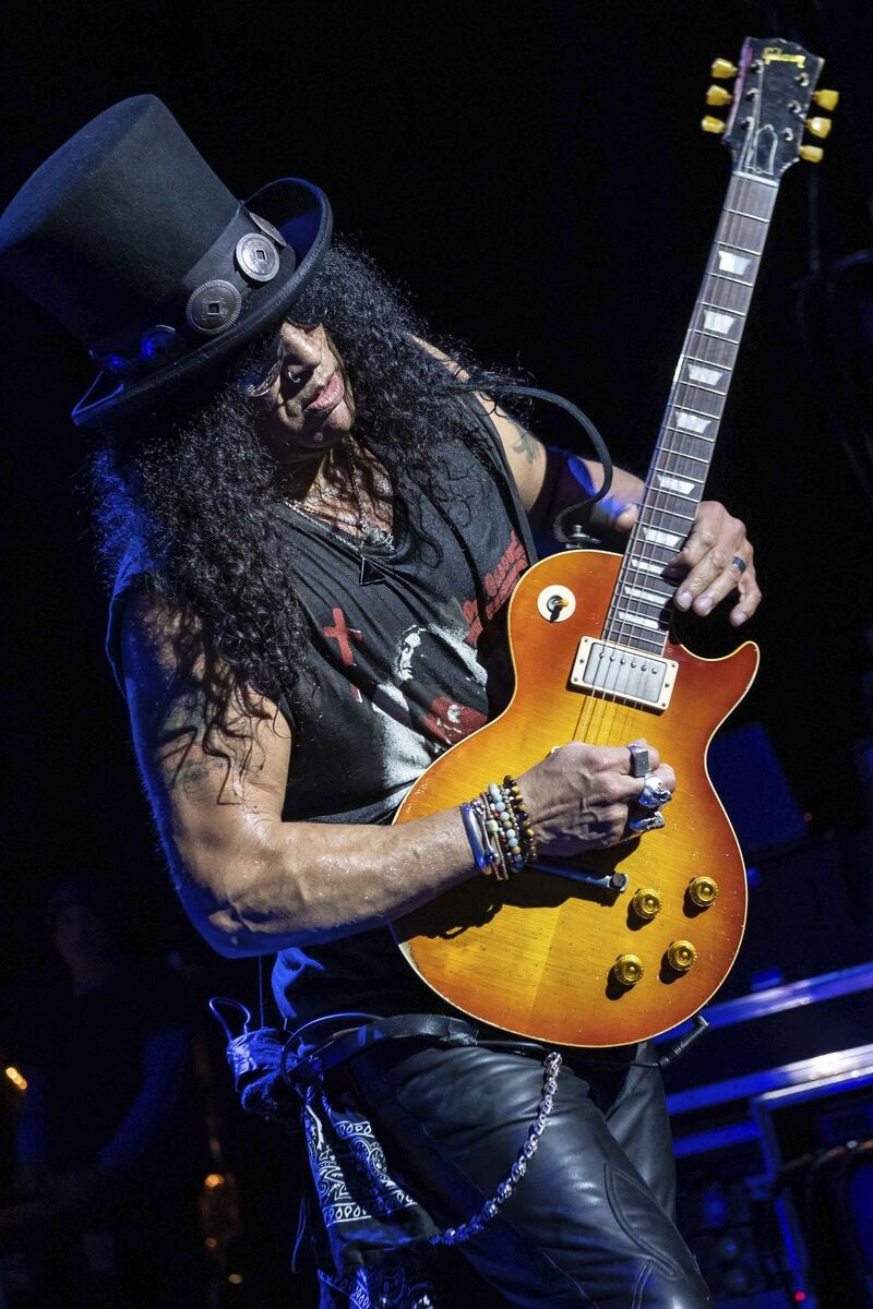 Slash ft. Myles Kennedy and the Conspirators have put out four albums together. (Kevin Nixon photo)