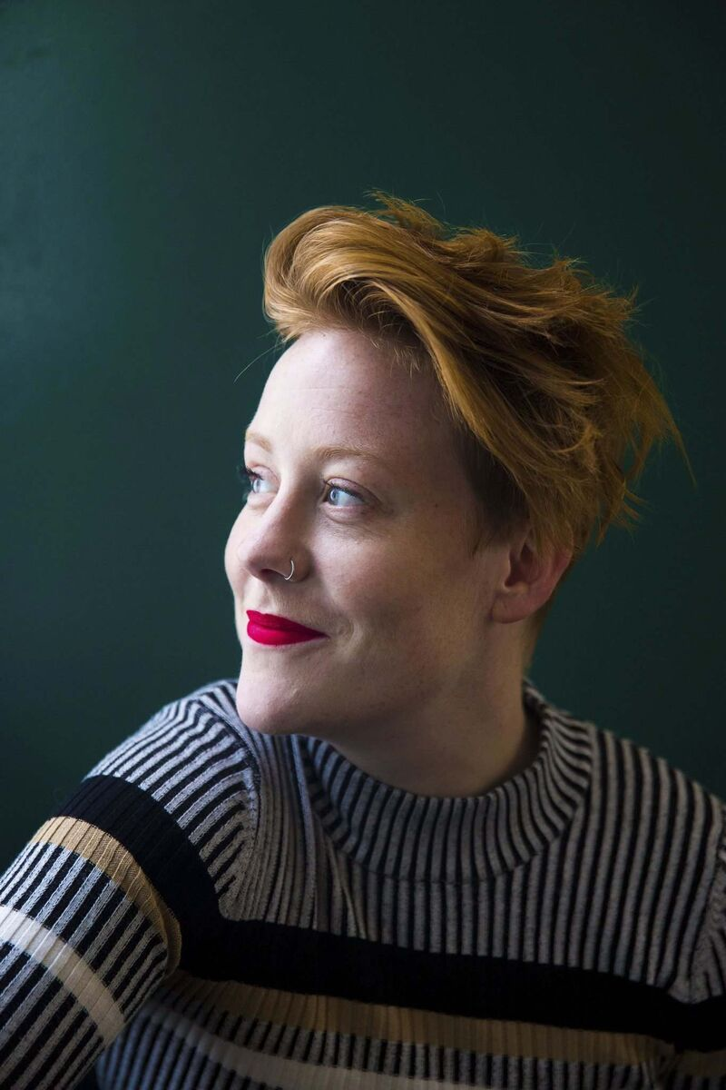 Sauder is the artistic director at Bad Hats, a multidisciplinary theatre collective. (Mikaela MacKenzie / Winnipeg Free Press)