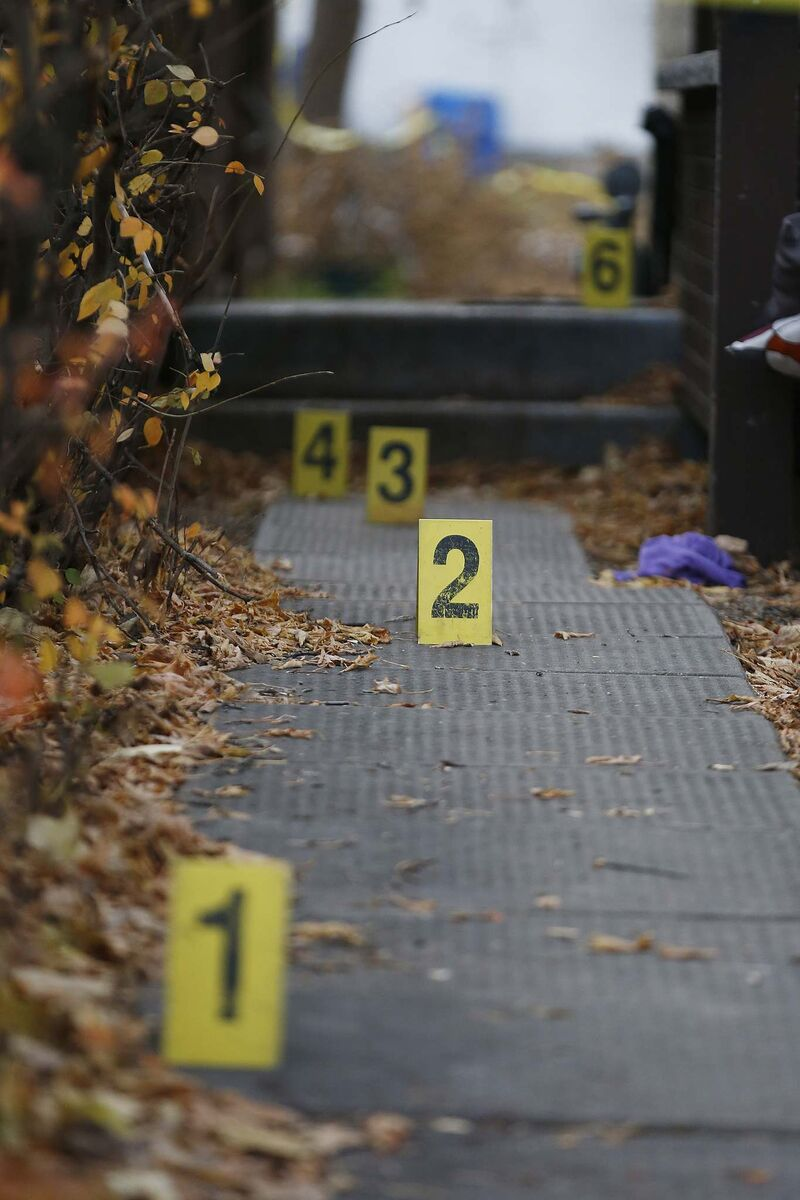 There are typically between 20 and 30 homicides a year in Winnipeg with the highest ever, 41, recorded in 2011. There have been 40 so far this year. (John Woods / Winnipeg Free Press files)</p>