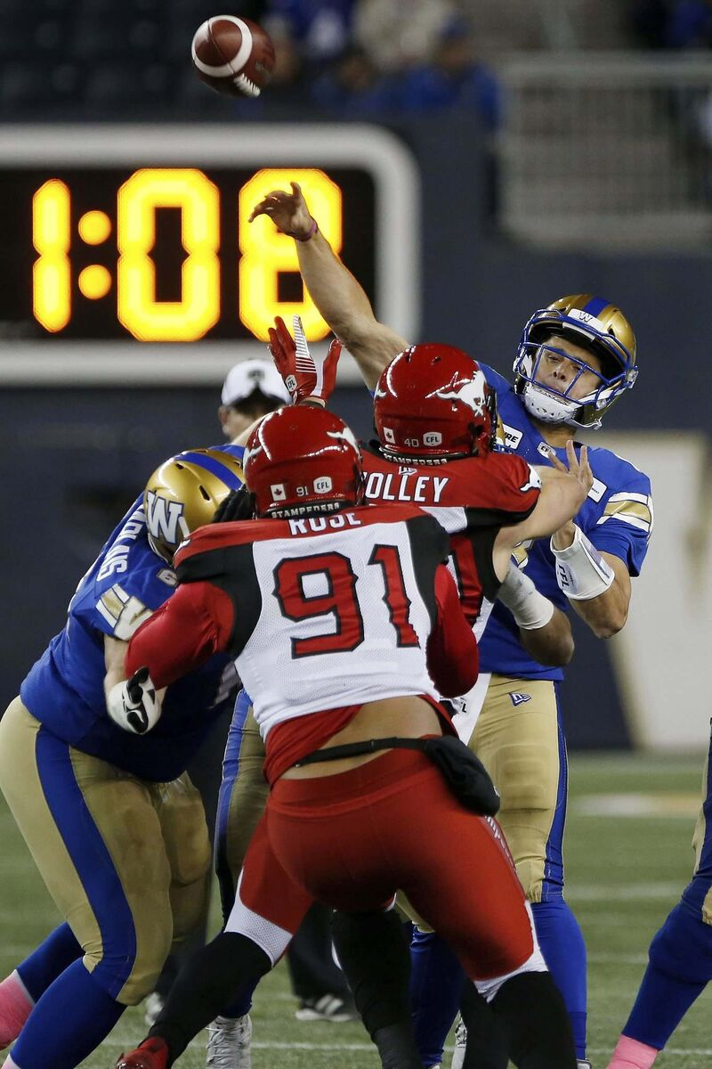 Collaros has been integral to the Bombers' success down the stretch and in the playoffs.