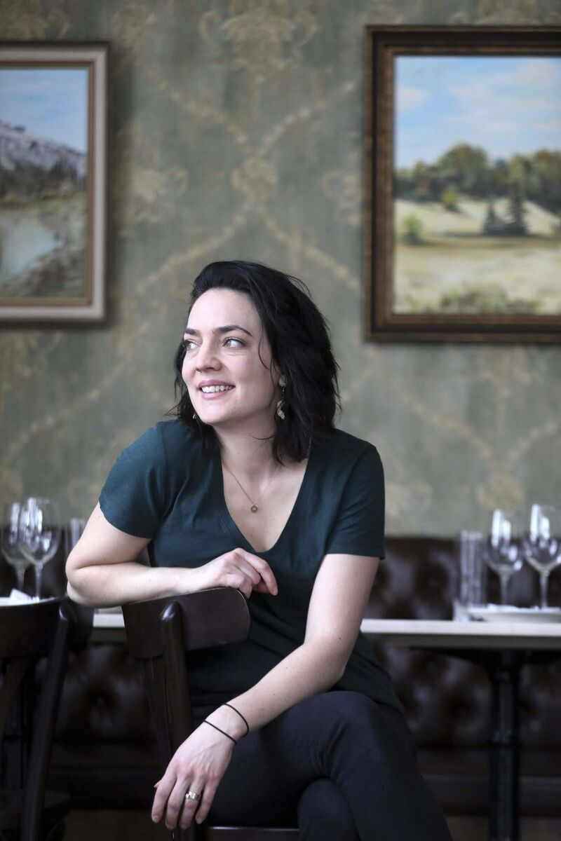 Joining Langside Grocery in October 2019 has allowed Chef Kylie Matheson to return to the industry with creative freedom. (Ruth Bonneville / Winnipeg Free Press)
