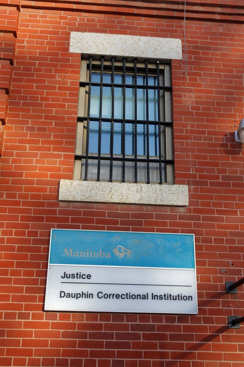 The province announced Friday the Dauphin Correctional Institution would close in May. (Boris Minkevich / Winnipeg Free Press files)