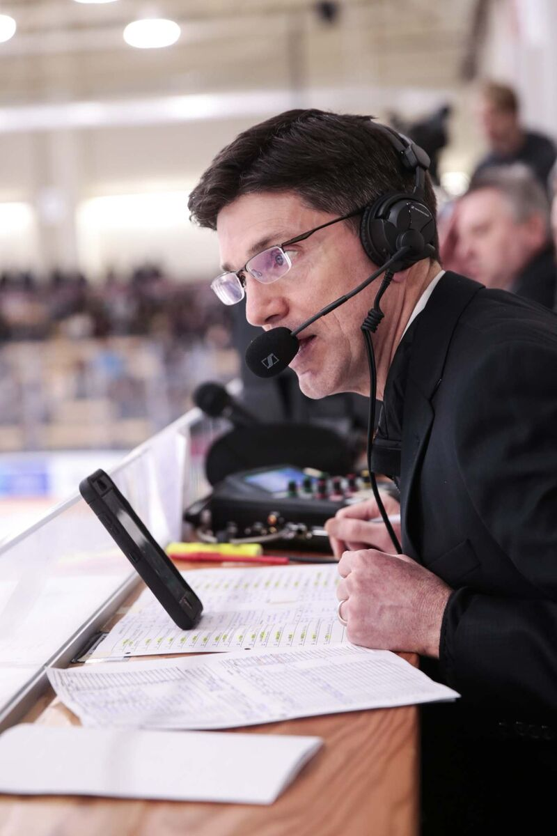 Broadcaster Mitch Peacock called games for the WHL's Prince Albert Raiders between 1998 and 2000.