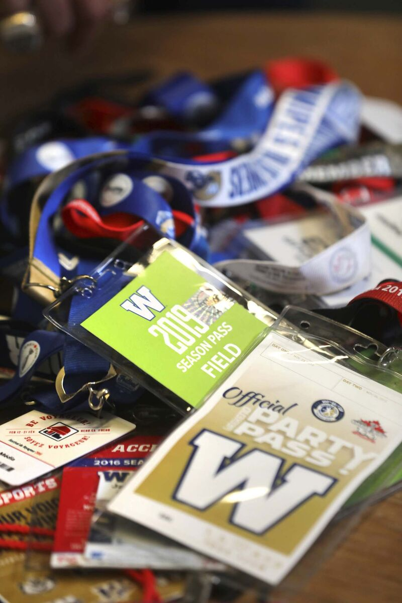 "Deighton's lanyards and event badges.</p> <p>""> </a><figcaption readability="