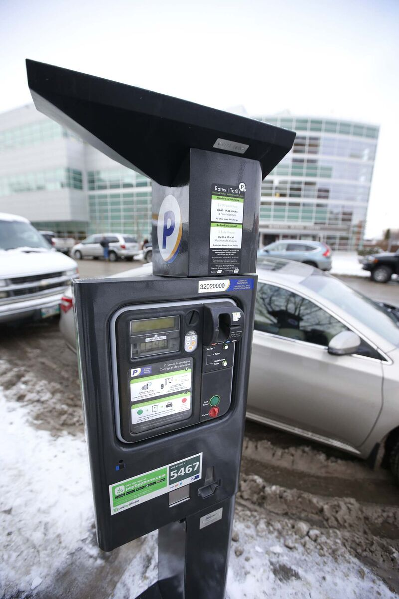 WAYNE GLOWACKI / FREE PRESS FILES  City council approved a 75-cent/hr city-wide decrease in on-street parking rates this year.