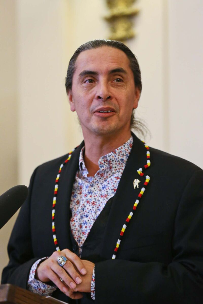 "Arlen Dumas, grand chief of the Assembly of Manitoba Chiefs, described it as ""very troubling,"" ""wrong-minded,"" and outside the province's jurisdiction."