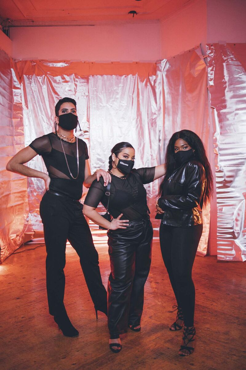 BNB Studios</p><p>From left: Nader, Maribeth (Kilusan) Tabanera and Jen Otisi present Learn to Vogue this Saturday during the festival.</p></p>