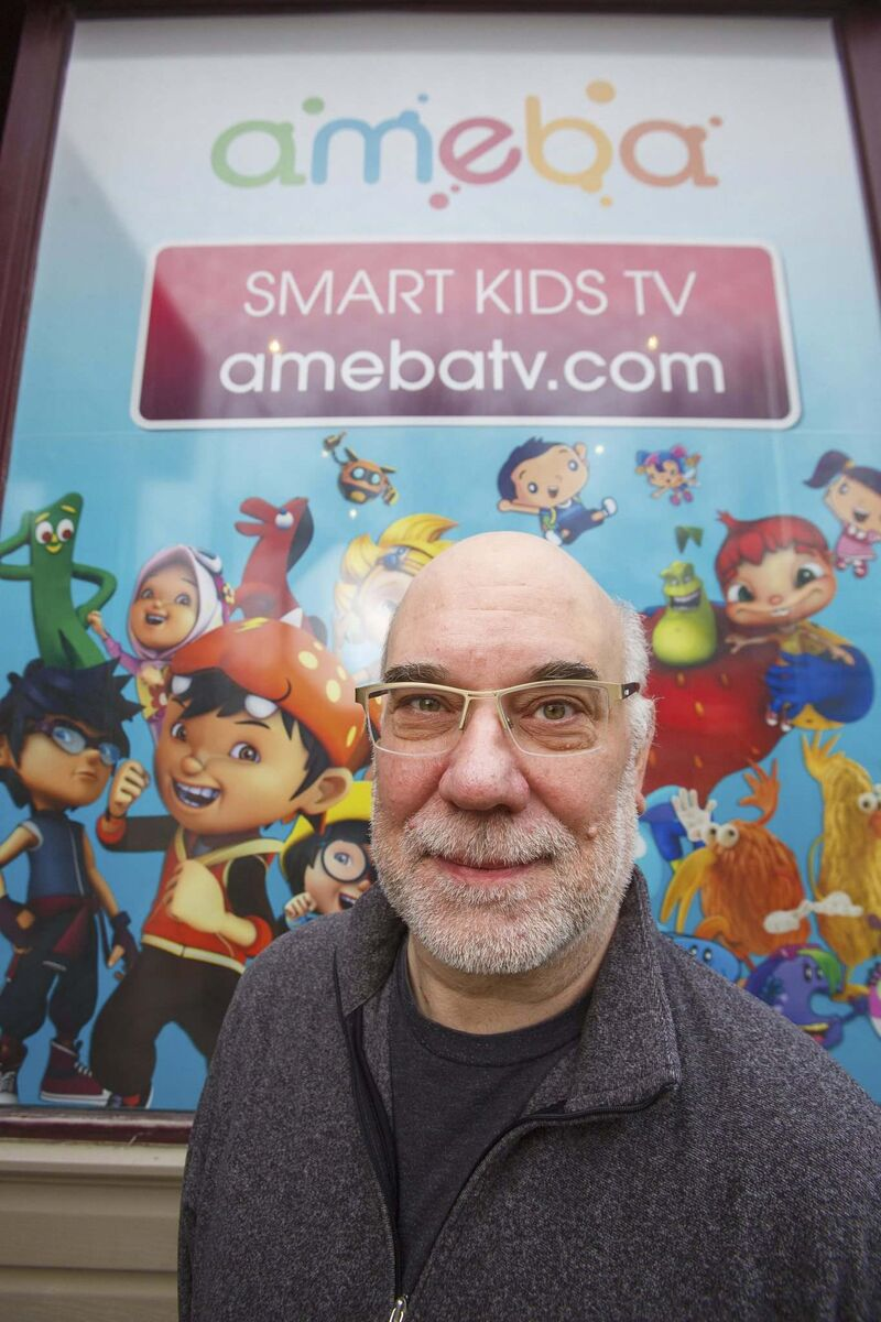 Ameba TV has millions of views a day because it is on so many different platforms, says CEO Tony Havelka. (Mike Deal / Winnipeg Free Press)