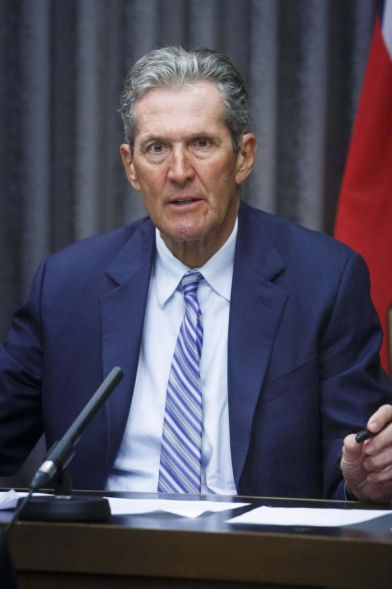 MIKE DEAL / WINNIPEG FREE PRESS</p><p>Manitoba Premier Brian Pallister </p>
