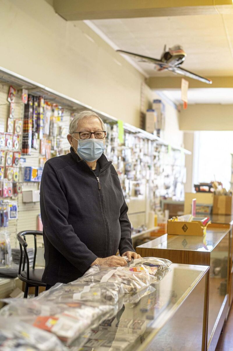 MIKE SUDOMA / WINNIPEG FREE PRESS</p><p>Gerry Fingler, 82, opened the Cellar Dwellar during a boom in interest in model building.</p>