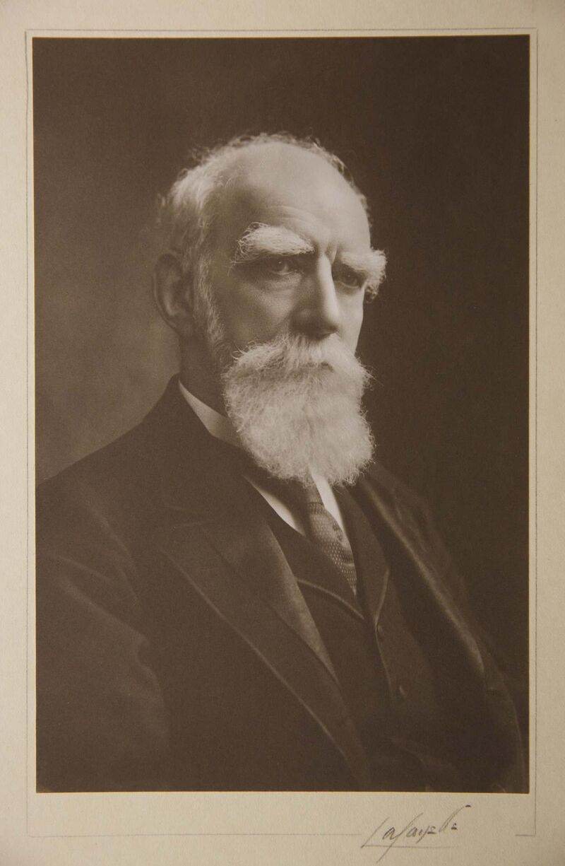 Donald A. Smith, Baron Strathcona and Mount Royal. Governor of the HBC 1889-1914.</p>