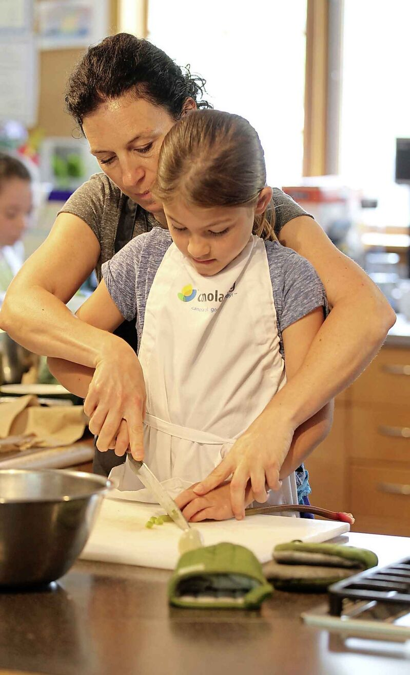 The Food Studio owned by chef Maria Abiusi, offers a range of services. (Ruth Bonneville / Free Press files)