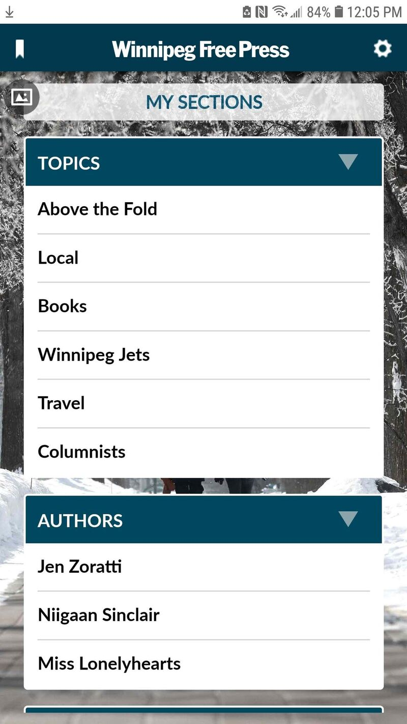 The updated News Break app allows subscribers to follow topics and writers. </p>