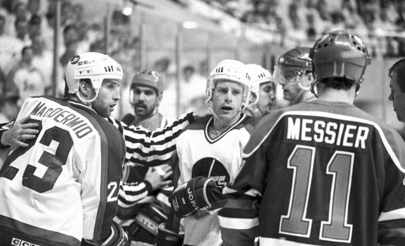 The teams had a hate-on for each other. Paul MacDermid and Paul Fenton want a few words with Mark Messier.