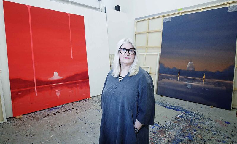 Artist Wanda Koop: 'I was just heartbroken when I saw the steeple topple'