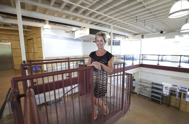 Executive director Angela McCaughan said that overwhelming response drove home the need to act quickly on housing, and she got in touch with Assiniboine Credit Union, which was the primary lender for the Neechi Commons co-op and, currently, the building, which she'd been eyeing since the day it closed.