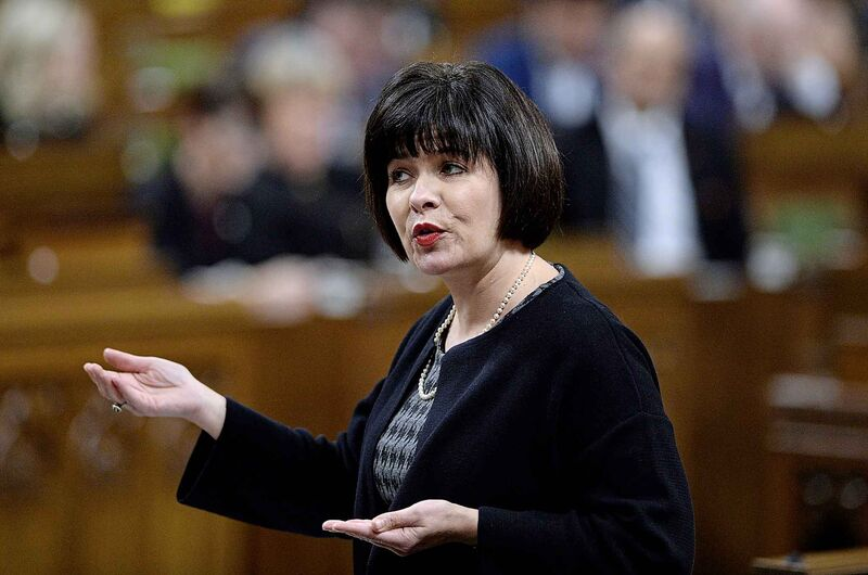 Minister of Health Ginette Petitpas Taylor admitted it took a while for Ottawa to start tracking opioid use in 2017, but that they've since issued updates every quarter. (Justin Tang / The Canadian Press files)