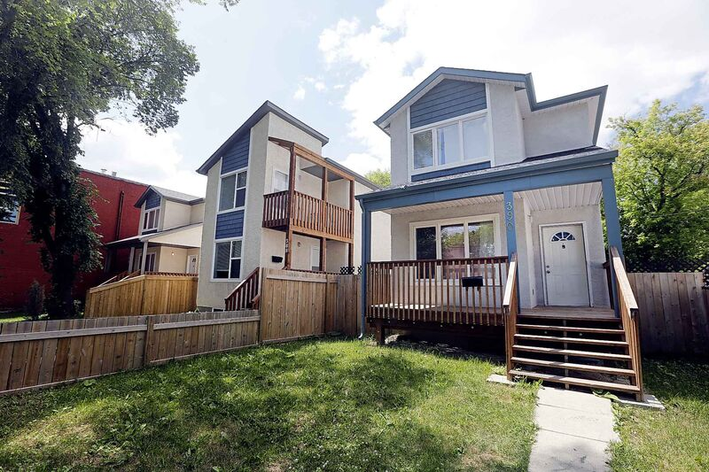 KEN GIGLIOTTI / WINNIPEG FREE PRESS FILES </P>Infill housing in Winnipeg's West End neighbourhood.