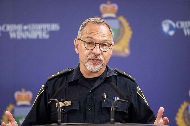 """There is no discussion within the WPS to stop identifying people by gender,"" Winnipeg police spokesman Rob Carver said in a written statement to the Free Press."