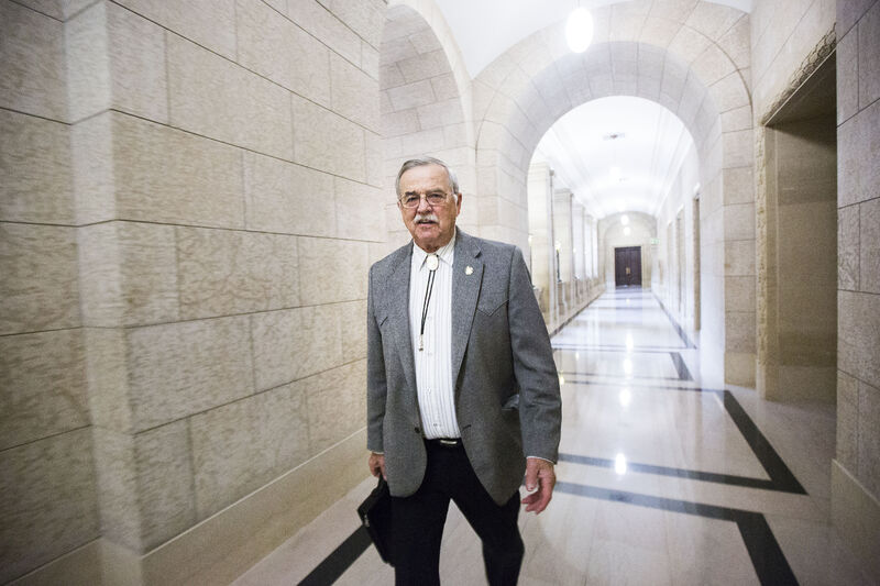 MIKAELA MACKENZIE / WINNIPEG FREE PRESS  PC MLA Cliff Graydon, when reached by telephone, refused to comment on allegations of harassment before hanging up.