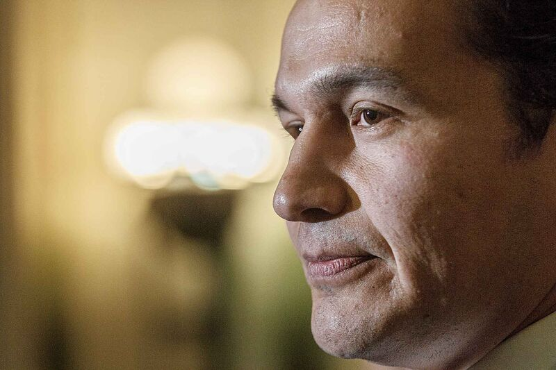 NDP Leader Wab Kinew: '(Pallister) can't work with the mayor, he can't work with the prime minister, he can't even work with well-established members of his own political party apparently'