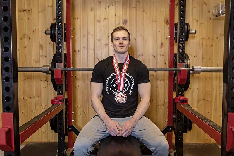 SASHA SEFTER / WINNIPEG FREE PRESS</p><p>Ryan Kolesar trained as a bodybuilder before shifting to powerlifting in 2014.</p>