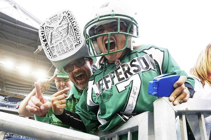 Saskatchewan Roughriders' fans are among the loudest in the CFL.