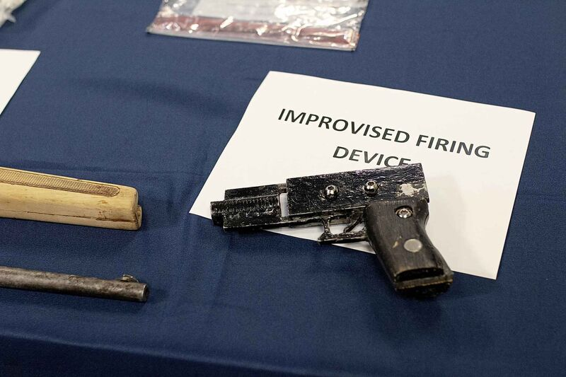 Winnipeg police seized drugs and firearms at the Windsor Hotel last November.