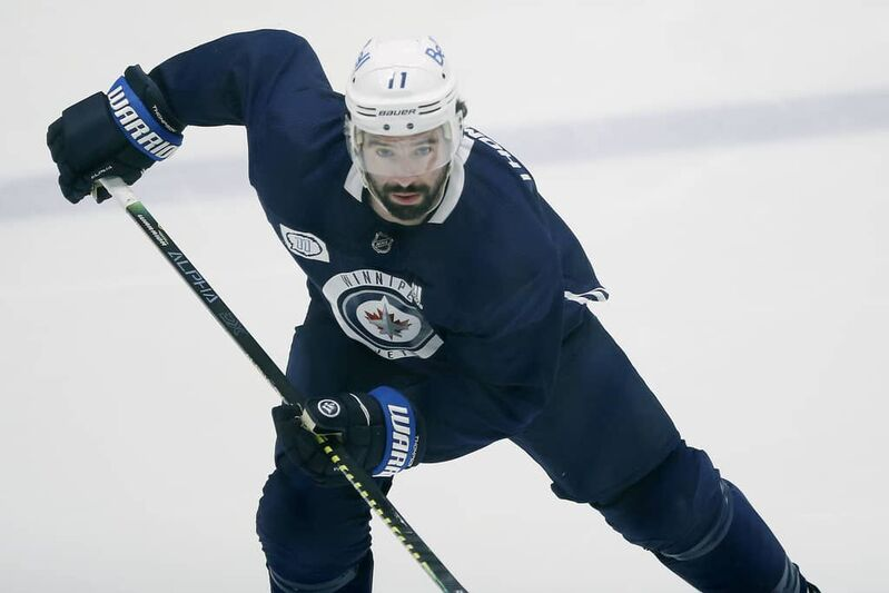 """Winnipeg Jets' Nate Thompson: """"... There is no place for that in the game."""""""