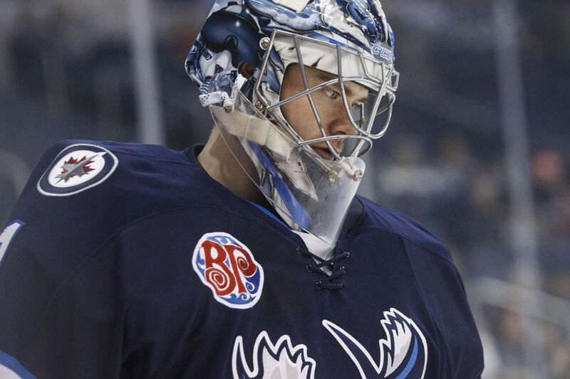 Comrie might emerge as a very interesting potential trade chip. (Mike Deal / Winnipeg Free Press files)</p>