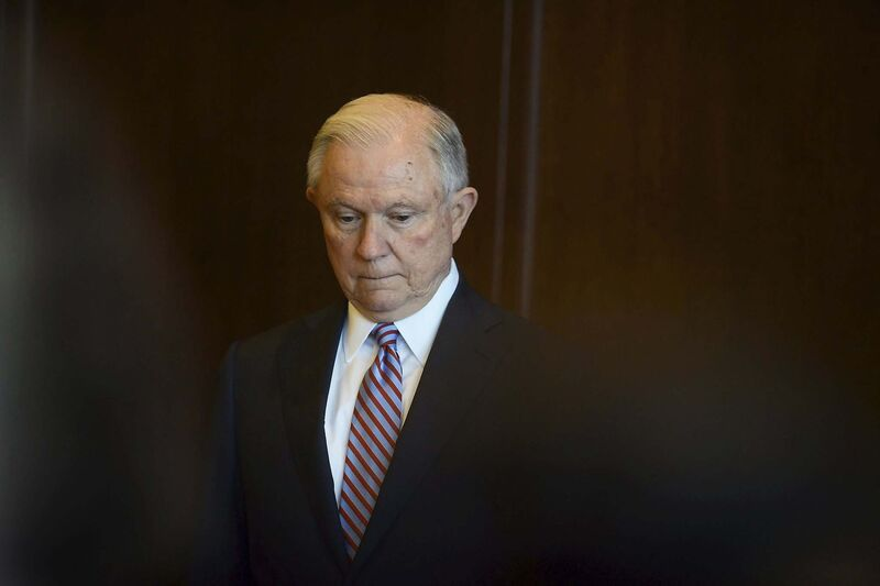 U.S. Attorney General Jeff Sessions (Butch Comegys / The Times-Tribune)