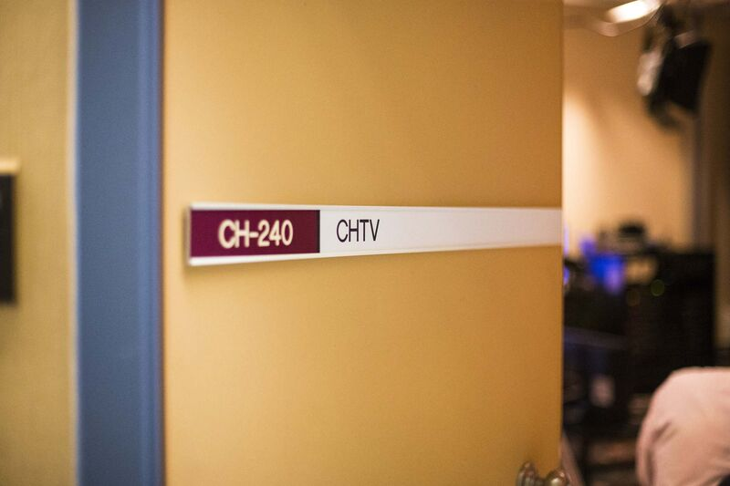 MIKAELA MACKENZIE / WINNIPEG FREE PRESS</p><p>The studio of The Good Day Show.</p>