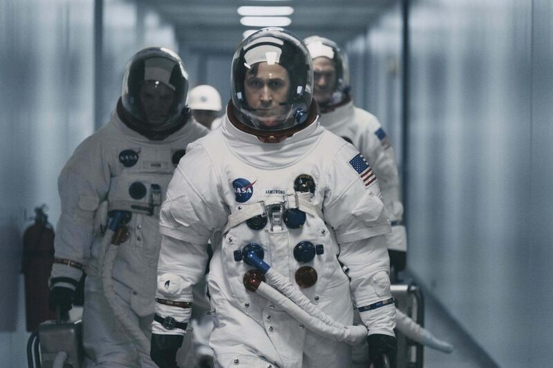Ryan Gosling plays Neil Armstrong in First Man. (Universal Picture)