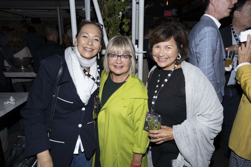 Cameron McDonald photo</p><p>Tina Keeper (left), Carole Vivier and Joy Keeper.</p></p>