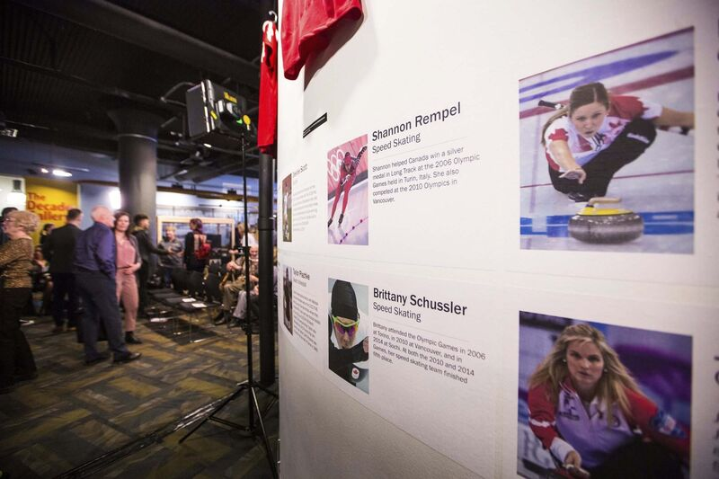 The Manitoba Sports Hall of Fame's new exhibit, Women in Sport: Celebrating Manitoba Women Past, Present and Future</p>