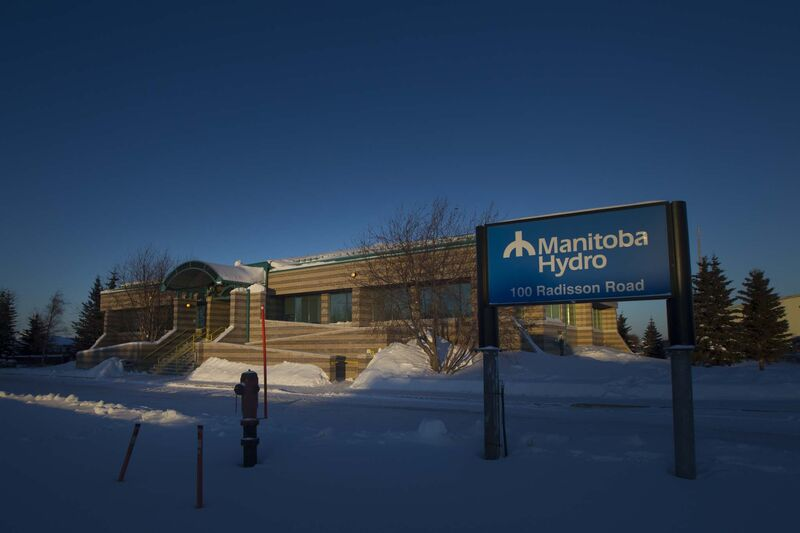 PHIL HOSSACK / WINNIPEG FREE PRESS</p><p>Manitoba Hydro's office in Gillam.</p>