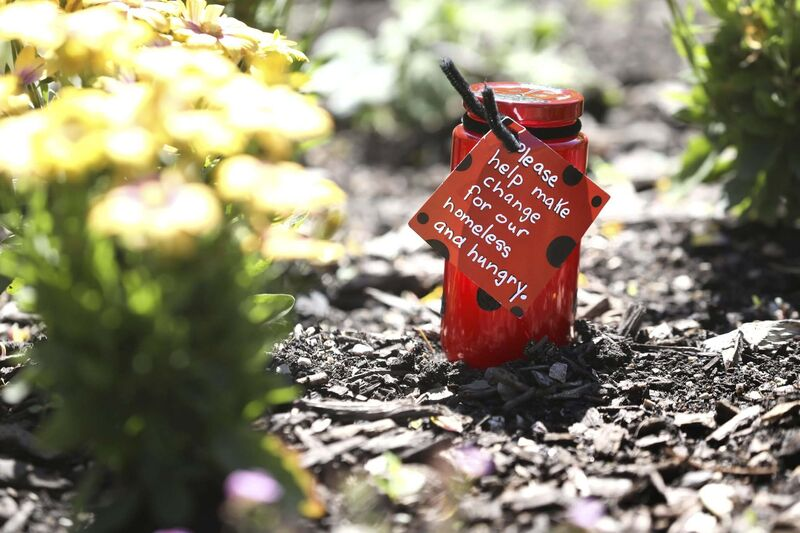 RUTH BONNEVILLE / WINNIPEG FREE PRESS</p><p>The Ladybug Foundation became known for its colourful collection jars. </p>