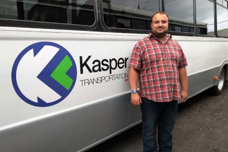 Kasper Transportation's Kasper Wabinski dropped the Selkirk-Winnipeg run because it was struggling to make money.</p>