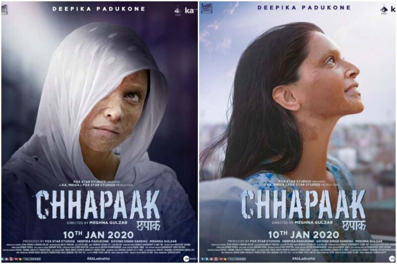 Chhapaak is a Hindi film about an acid-attack survivor.