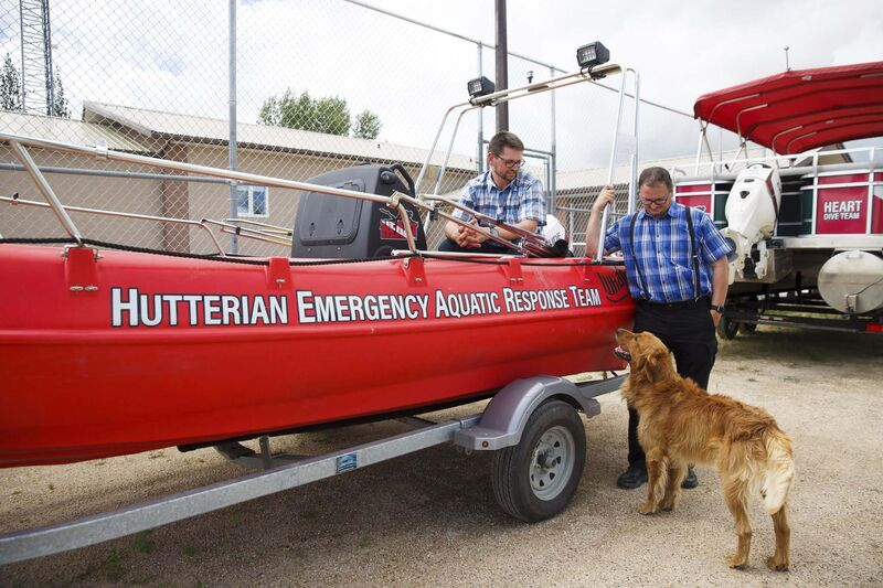 """The individual was involved with the HEART (Hutterian Emergency Aquatic Response Team) assisting in looking for the body of one of the three girls. He did not attend the funeral; his involvement was confined to assistance on the shore of the river,"" says Mark Waldner, a spokesman for the Hutterian Safety Council."