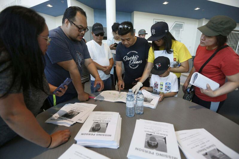 The local Filipino community rallyed behind Balaquit's family and organized searches for the missing father.