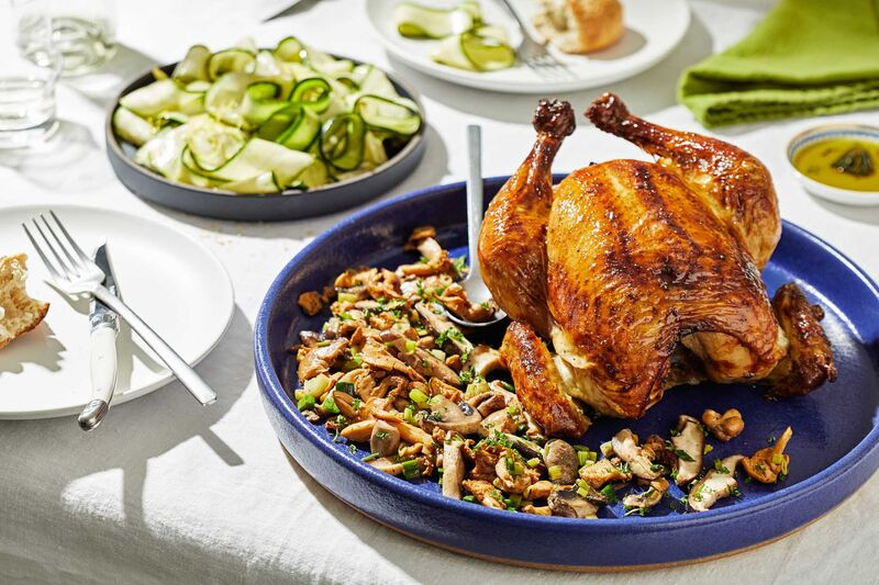 A roast chicken on Sunday night can provide leftovers for a supper later in the week.