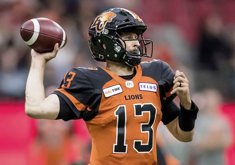 The B.C. Lions signed quarterback Mike Reilly to a four-year, $2.9-million deal in the off-season.