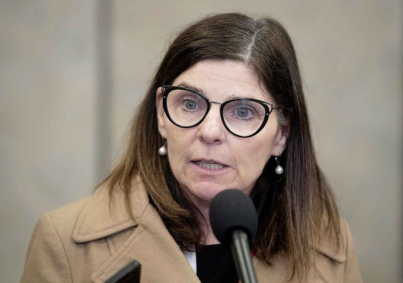 """""""In light of the COVID-19 pandemic, resources and regulatory priorities have shifted to address the pressing needs of Canadians and Canadian businesses,"""" Dustin Fitzpatrick, a spokesman for federal Labour Minister Filomena Tassi (pictured), wrote Thursday. (Adrian Wyld / The Canadian Press files)"""