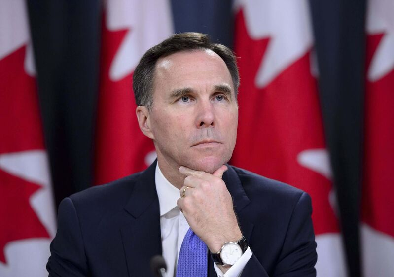 Minister of Finance Bill Morneau needs to look closely at the effect of his previous budget deficits and craft a policy that more efficiently promotes employment growth. (Sean Kilpatrick / Canadian Press files)