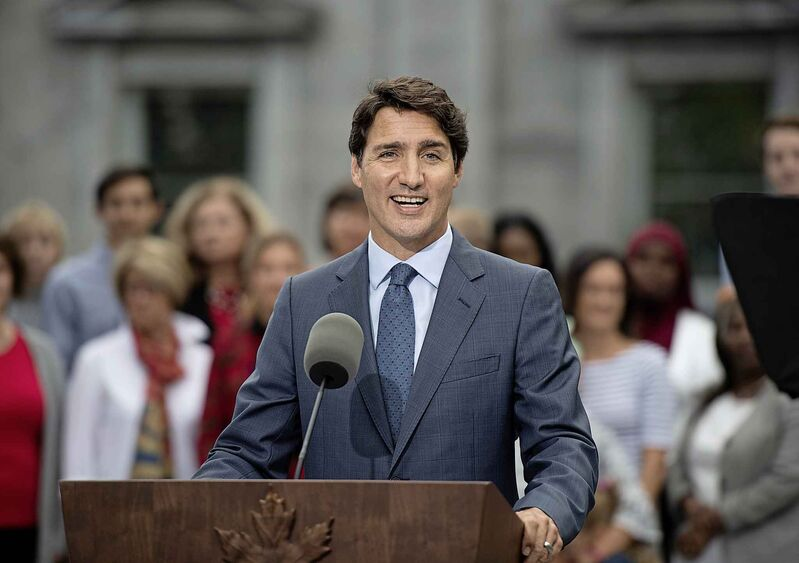 The Liberals in 1972 were up 10 points in the polls, while today's Liberals are running nearly neck-and-neck with the Conservatives. (Justin Tang / The Canadian Press)