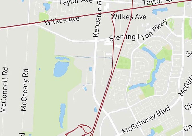 <p><strong>Co-operation between CP/CN on parallel lines in the south</strong></p> <p>Crossings that could be closed:</p> <p>- Wilkes Ave.</p> <p>- Sterling Lyon Pkwy. (2 crossings)</p> <p>- Kenaston Ave. (2 crossings)</p>