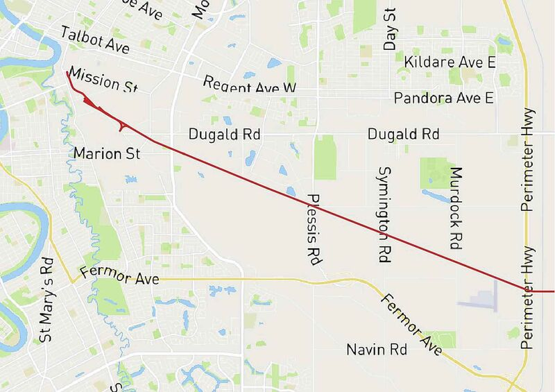 <p><strong>Removing the Greater Winnipeg Water District Railway;</strong></p> <p>Crossings that could be closed:</p> <p>- Plinguet St.</p> <p>- Messier St.</p> <p>- Dawson Rd. N.</p> <p>- Van Bellegham Ave.</p> <p>- Dugald Rd.</p> <p>- Panet Rd.</p> <p>- Lagimodiere Blvd (2 crossings)</p> <p>- Plessis Rd.</p>