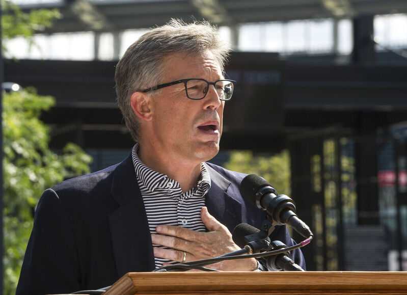 Cleveland Indians president Paul Dolan announced the team is changing its name. (AP Photo/Phil Long, File)